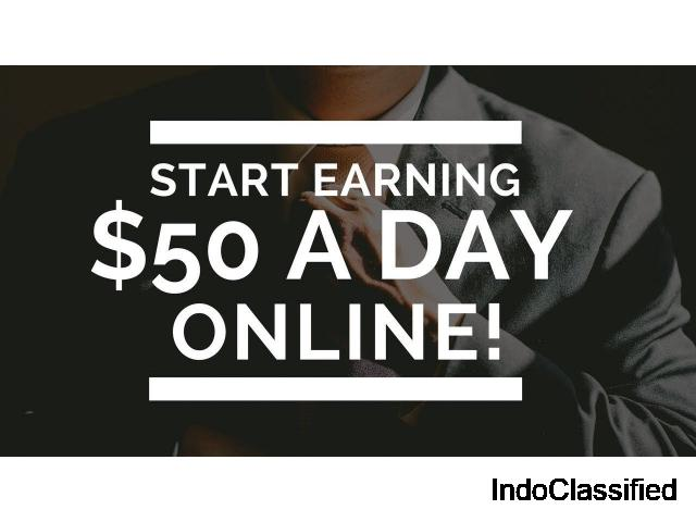 How to earn $30-50 per day online