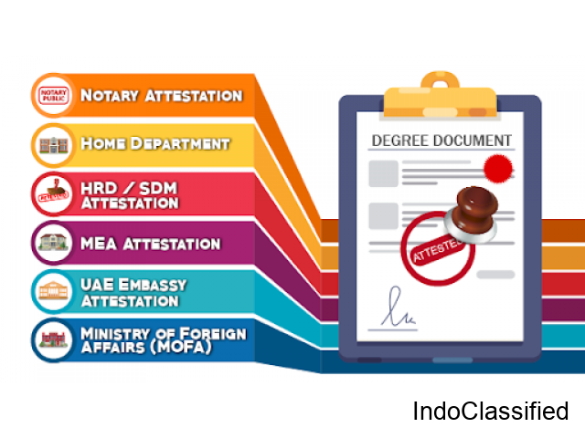 Indian Certificate Attestation in Dubai