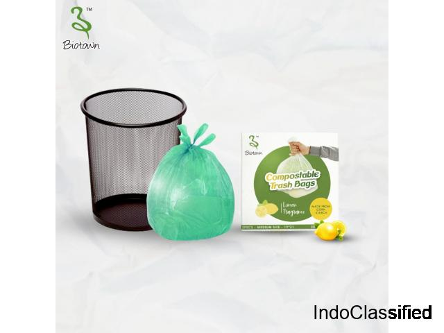 Compostable Trash Bags | Lemon & Lavender Fragrance | Biotown Online Shopping