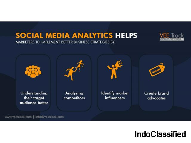 Social Media Analytics helps marketers to implement better business strategies