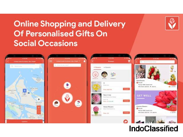 Online shopping and delivery of personalised gifts on special occasions