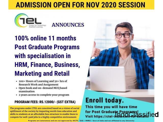 CTEL Announces Online Post Graduate Programs