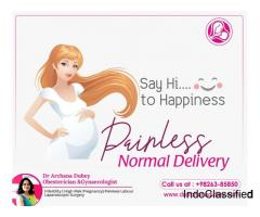 PAINLESS NORMAL DELIVERY - DR ARCHANA DUBEY INDORE