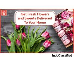 Get fresh flowers and sweets delivered to your home!