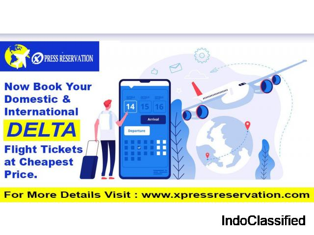 Delta Ticket Reservation with Xpress reservation
