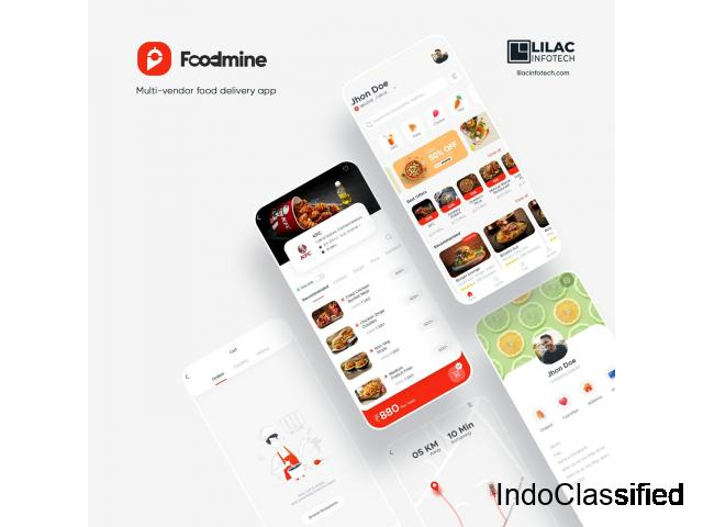On- demand food ordering app development company in India & USA