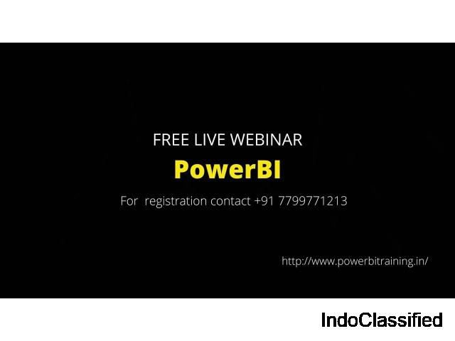 Microsoft Power BI Classroom Training in Hyderabad