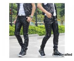 Leather Pants For Men For Sale