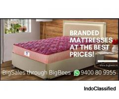 Branded Mattresses at the Best Prices