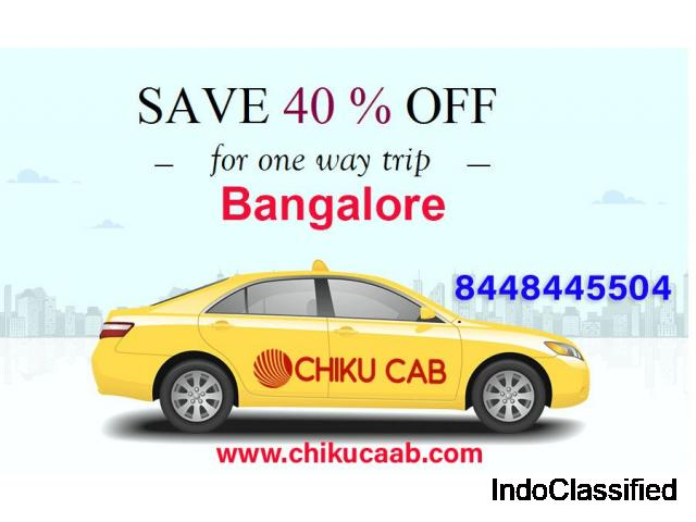 best cab service provider in Bangalore