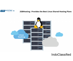 2GBHosting : Provides the Best Linux Shared Hosting Plans