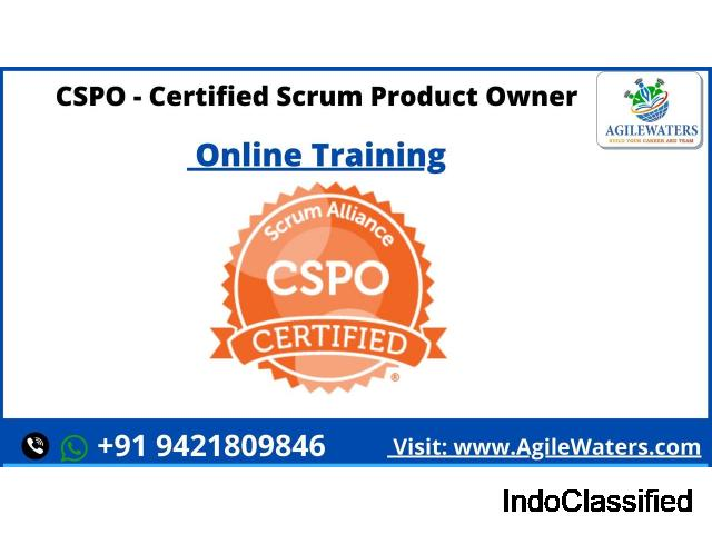 CSPO - Certified Scrum Product Owner Certification