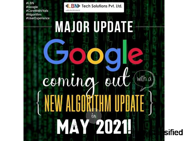 Major update – Google's coming out with a new algorithm update in May 2021!