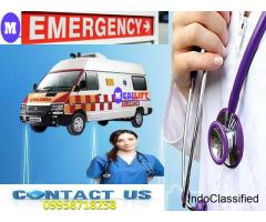 Pick Medilift ICU Ambulance from Mokama to Patna