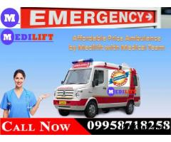 The Lowest Fare Ambulance from Buxar to Patna by Medilift