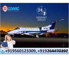 Reliable Air Ambulance Services in Guwahati with Medical Tool