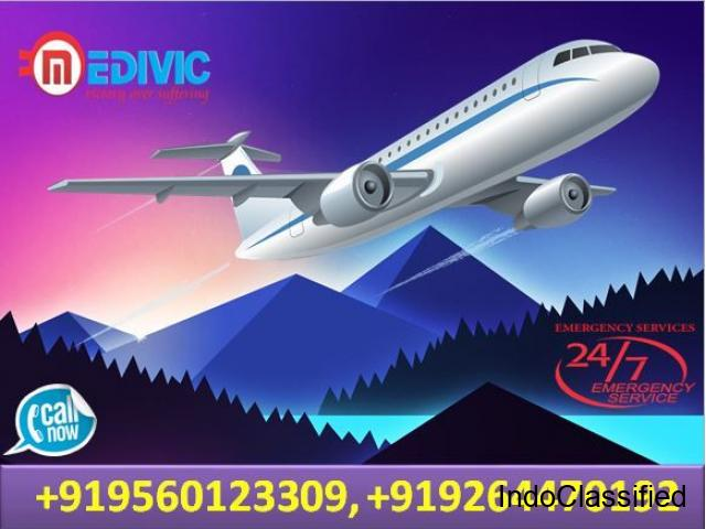 Get Paramount Air Ambulance Services in Ranchi with Doctor