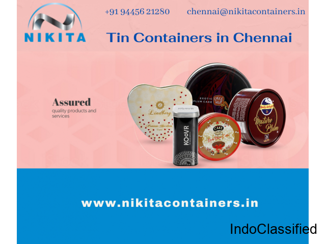 Tin plate packaging | Printed Tin Containers Suppliers, Manufacturers India