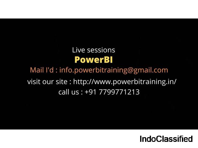 power bi training online/online power bi training