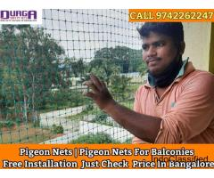 Pigeon nets for balconies Bangalore