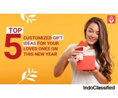 Top 5 customised gift ideas for your loved ones on this new year