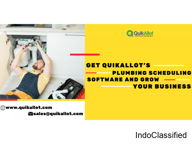 Grow Your Plumbing Service Business With QuikAllot!