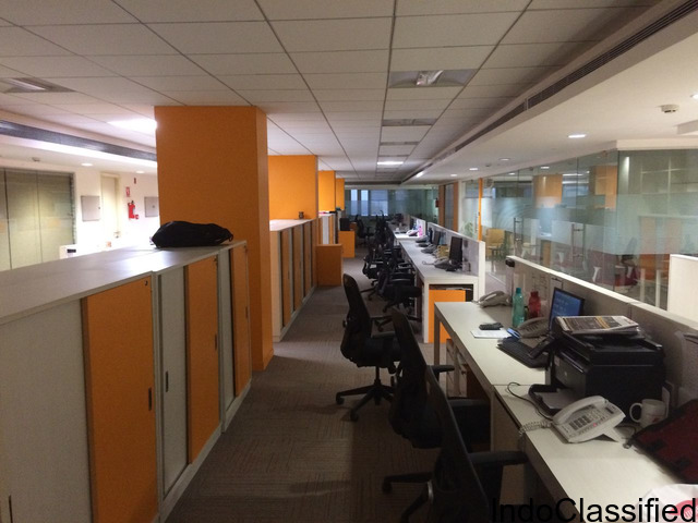 Fully furnished commercial office space for let ouit