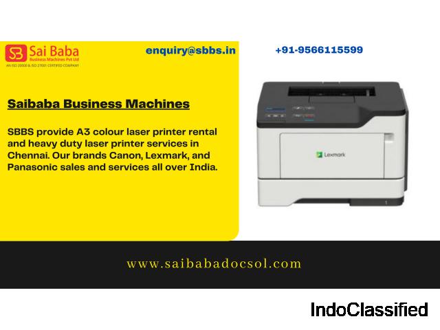 Buy Photocopier, Distributors for Canon, Lexmark Dealers - SBBS