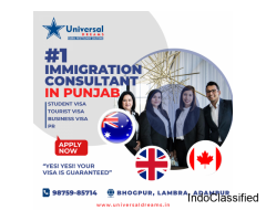 Best Immigration Consultants in Punjab | Student Visa, PR, Tourist Visa | Universal Dreams