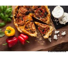 Affordable Roasted Vegetable Pie
