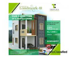 3BHK Villas for Sale in Bowrampet | Tripura Landmark-3