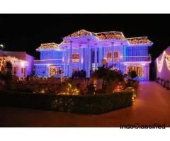 Event lights Bangalore, Outdoor Event Lights Bangalore, Diwali lighting Bangalore