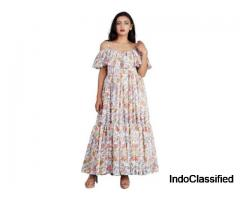 Buy White Maxi Dresses Flipkart