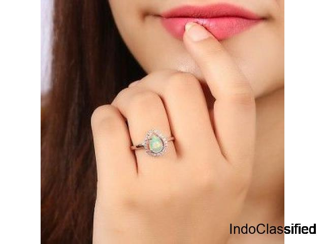 Unique sterling silver Wholesale opal jewelry