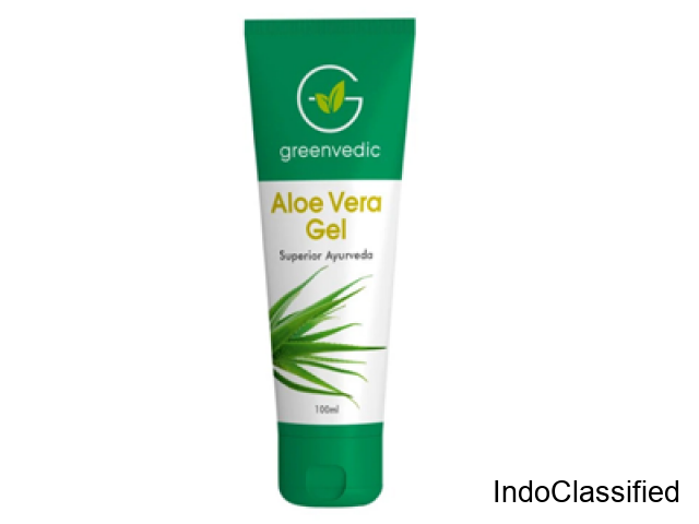 Greenvedic Best Aloe Vera Gel Buy Online Now