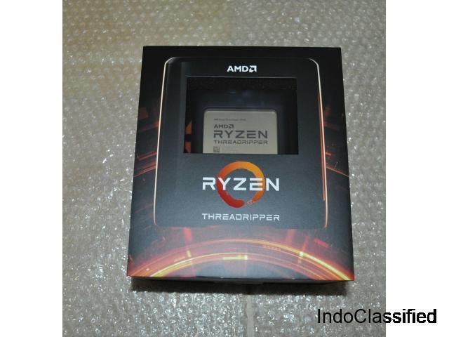 new AMD CPU Ryzen Threadripper 3970X 32Cores/64Threads 3.7GHz 280W
