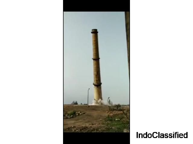 GANMAR RCC Concrete chimney demolition contractors in Chennai