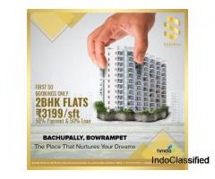 High Rise Gated Community Apartments For sale in Bowrampet Hyderabad | sanarelli