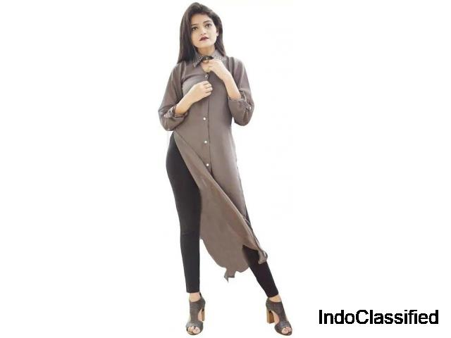 Buy Grey Rock Rose Long top for Women online