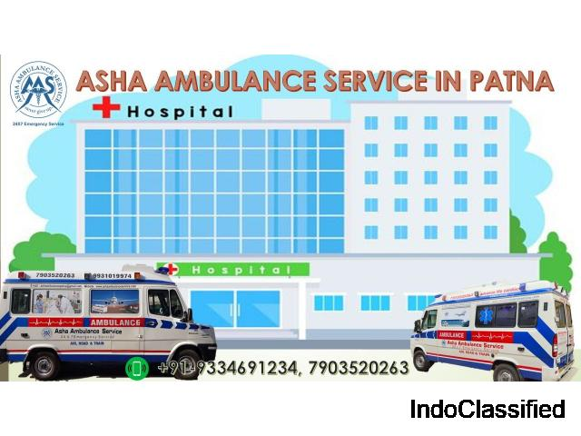 Get Best Discounted Price of Ambulance Services from Patna | ASHA