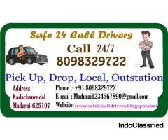 Safe 24 Acting Driver Anaiyur