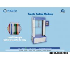Tensile Testing Machine Manufacturer and Supplier