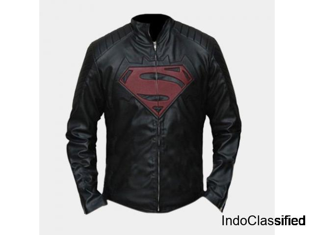 superhero Leather jacket