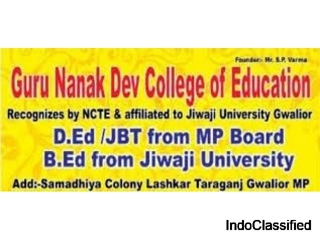 Get Admission in JBT / B.Ed from Haryana & MP