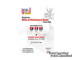Home Gift Expo,Stationery Exhibition,The Gift Wholesaler Pune 2018