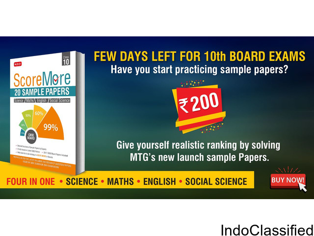 Give yourself realistic ranking by solving MTG's class 10 new launch sample Papers