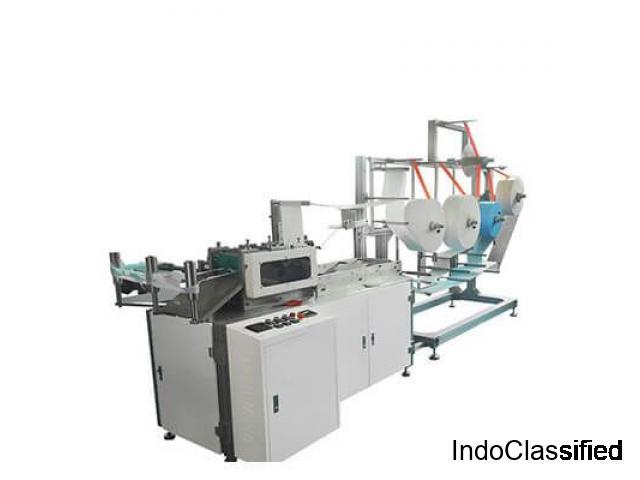 Fully Automatic Face Mask Making Machine in India | Bouffant Cap Machine Manufacturers in India