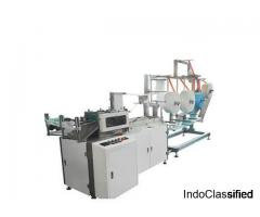 Fully Automatic Face Mask Making Machine in India | Bouffant Cap Machine Manufacturers in India