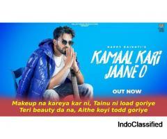 कमाल करी जाने ओ Kamaal Kari Jaane O Lyrics in Hindi - Happy Raikoti
