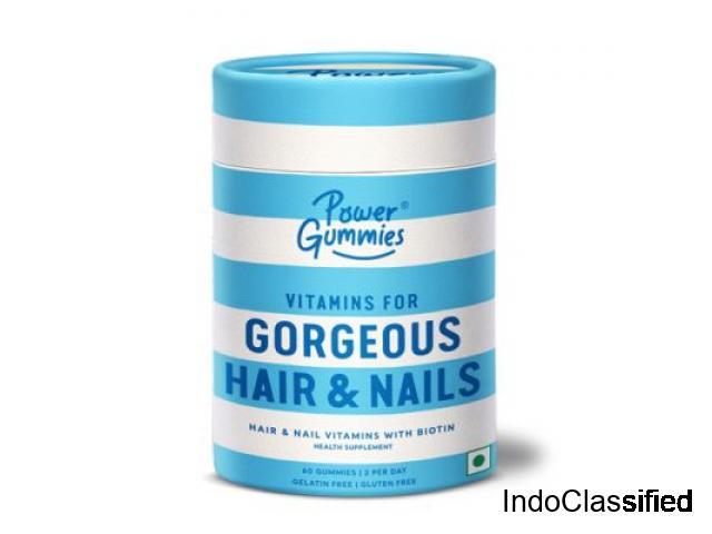 Power Gummies – Hair & Nails Vitamin Gummies | 1 Month Pack